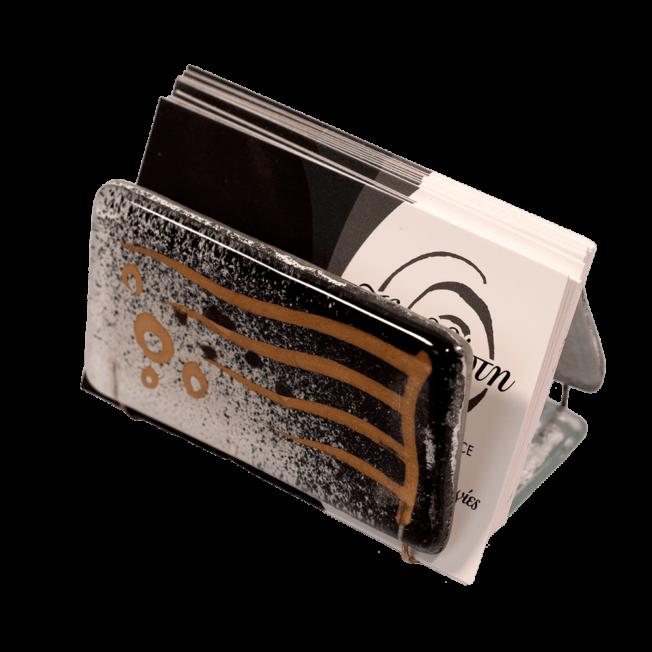 Χαρτοθήκη γυάλινη 4χ7,5 Ίριδα λευκό