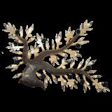 Δέντρο ελιάς 55χ80 μεταλλικό επιτοίχιο