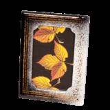 Κορνίζα γυάλινη 22χ18 Ίριδα λευκό